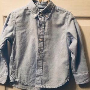 Zara boys 2T-3T basic denim shirt